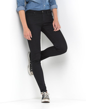 Scarlett Regular Waist Skinny - Black