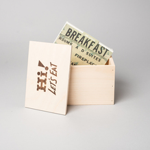 Recipe Box Index Cards