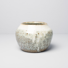 Sfera Large Grey White Vase