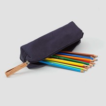 Qwstion Pencil Case Navy (Marine)
