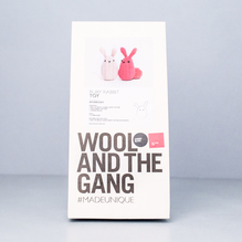 Wool And The Gang Ruby Rabbit Pink