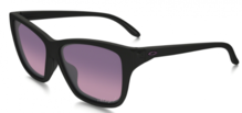 Sonnenbrille Oakley Hold On polished black/Rose Gradient Polarized