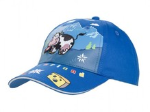 Kinder Baseball Kappe Blue Cow, blau