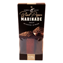 Senisa Black Pepper Marinade mit Pfeffer