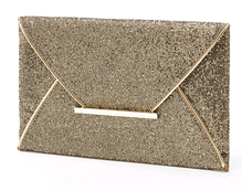 Party Clutch in Gold