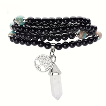 Nat rliches onyx mit kristall tree of life from tibet jpg