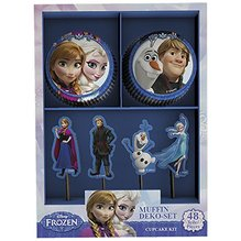 CupCake Deco-Set Frozen