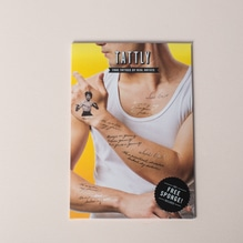 Tattly Temporary Tattoos Be Water Bruce Lee