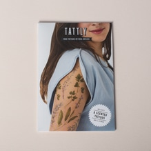 Tattly Temporary Tattoos Bouquet Garni Scented Set