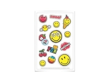Aufkleber Herlitz Smileyworld Girly mit lustigen Smiley