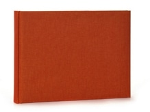 Fotoalbum Goldbuch Summertime orange, 22x16cm, orange Leinen