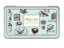 Stempel Cavallini Birds and Nests Rubber Stamps 11 Stempel