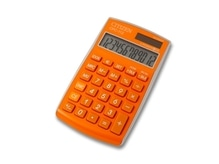 Taschenrechner Citizen CPC-112 orange, 12stelliges Display