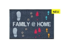 Fussmatte KleenTex Wash+Dry Family @ Home, 50x75cm