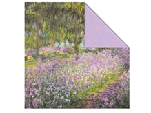 Servietten Stewo Monet Claude Flower Bed, 20Stk. 33x33cm