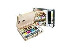 Oel Talens VanGogh Set Holz Basic 10Tuben 40ml