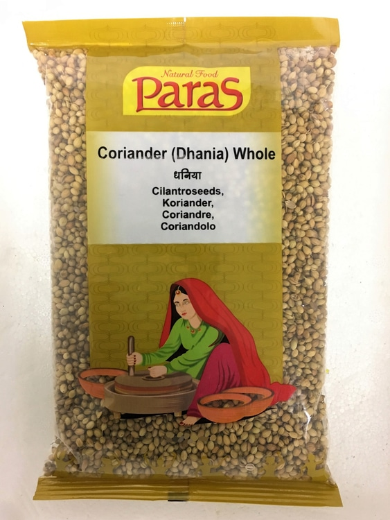 Dhania Whole / Koriandersamen 200 gr.