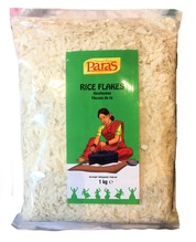 White Rice Flakes 1 kg.