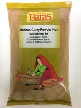 Madras Curry Powder Hot 400 gr.