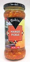 Mohini Mango Pickle 375 gr.